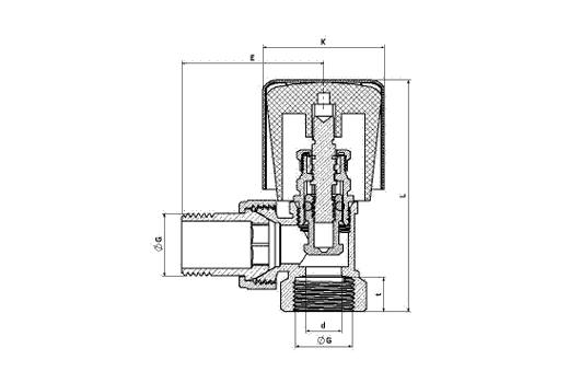 Angle Radiator Valve | Radiator Valves | Valves | Plumbing Group ...